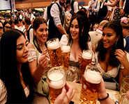 Beer flows as Oktoberfest opens
