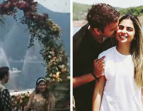 Isha Ambani, Anand Piramal get engaged under a flower shower in Lake Como