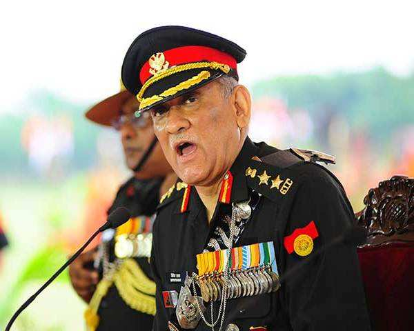 Time to give it back to Pakistan in the same coin: Army Chief Bipin Rawat