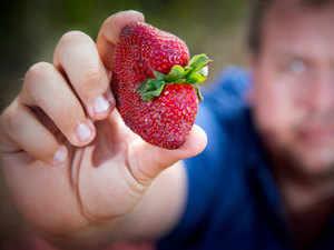 Strawberry-AFP