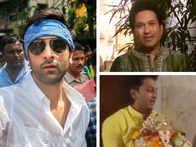 Ganesh Visarjan: Ranbir Dances, Tendulkar Goes Green