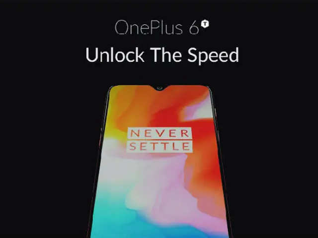 OnePlus 6T's official poster leaked; reveals smaller, waterdrop notch