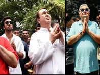 Ranbir, Rishi Kapoor celebrate final Ganpati Visarjan at RK Studios