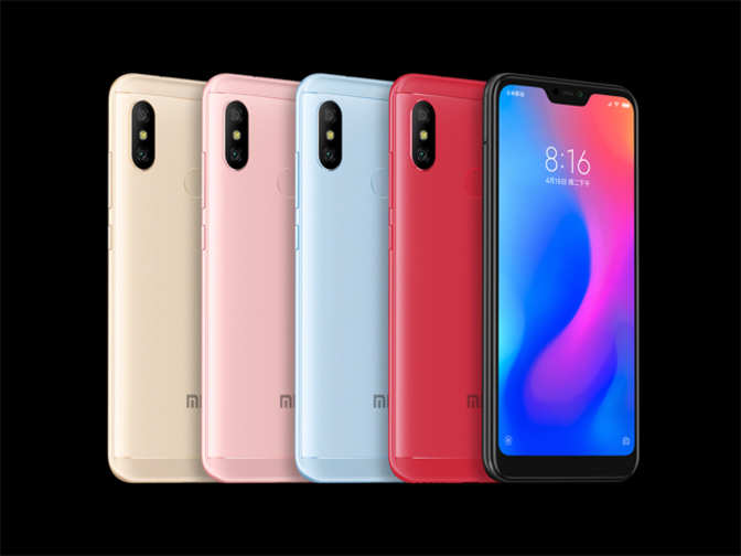 Redmi 6 Pro: Xiaomi Redmi 6 Pro on sale today, available on