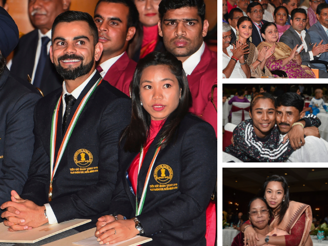 Family First - National Sports Awards:Virat Kohli, Mirabai