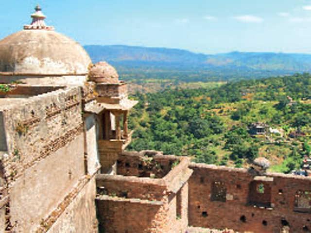 The historic vibe: Kumbhalgarh was a creation of Mewar's ruler Kumbha
