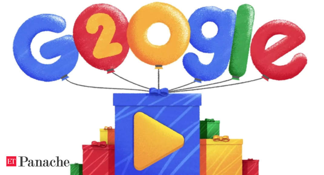 Doodle Google Celebrates Search Engines 20th Birthday With Quirky