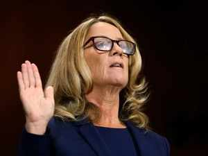 Christine Blasey Ford, who accuses Trump's Supreme Court nominee Kavanaugh of sexual assault, testifies before Senate committee