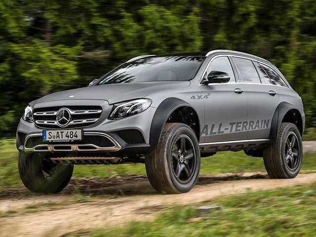 Mercedes drives in new E-Class All Terrain with top speed of 231 km/hr at Rs 75 lakh