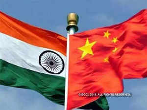 India,-China-flag