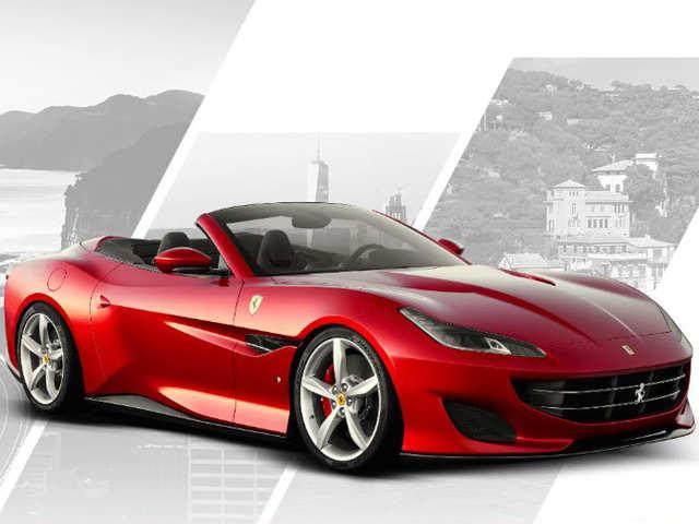 Luxury on wheels: Ferrari Portofino vrooms in top speed at Rs 3.5 cr
