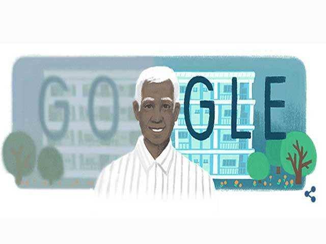 Dr  Govindappa Venkataswamy: Google honours ophthalmologist