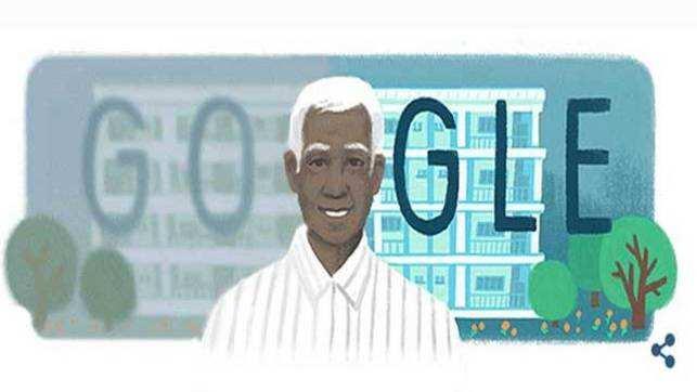 Dr. Govindappa Venkataswamy: Google celebrates ophthalmologist's 100th birth anniversary with a doodle