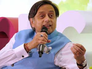 Shashi Tharoor 'unhappy' with Sushma Swaraj's UNGA speech