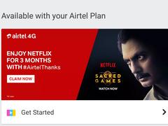 Airtel offers free Netflix subscription: Airtel offers 3