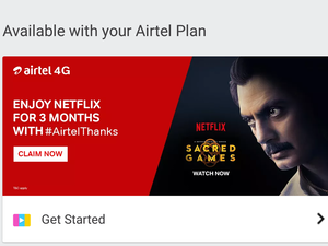 Airtel Netflix Subscription offer: Airtel offering free 3-months