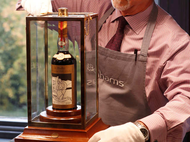 Rare bottle of Scotch whisky makes new world record, sells for over $1 mn