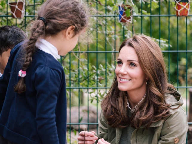 Here's Kate Middleton's sweetest response to a little girl's question