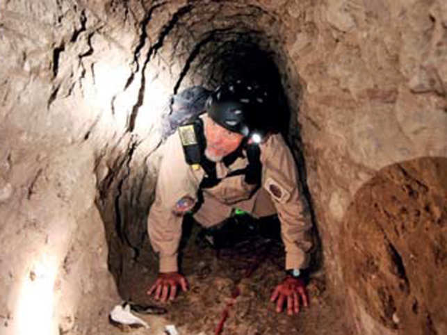 What's beneath the US-Mexico border? A 22-ft deep drug