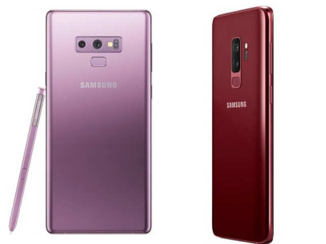 Samsung Galaxy Note 9 (L),  Samsung Galaxy  S9+
