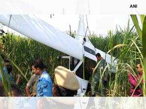 IAF aircraft carrying 3 people crashes in Baghpat, all safe