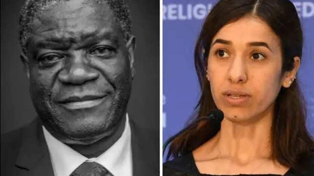 Denis Mukwege, Nadia Murad win Nobel Peace Prize