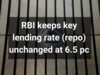 Reverse repo rate stands at 6.25 pc, bank rate at 6.75 pc, CRR at 4 pc