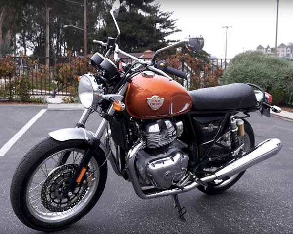 Autocar Show Royal Enfield Interceptor 650 First Ride Review