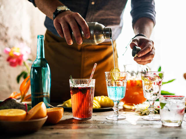 It's that time of the year when you can almost smell the festivity in the air, evenings are spent with family and friends over food and drinks, and parties go on till the wee hours of the morning.   And to make your celebrations all the more special, we've rounded up some of our favourite cocktail recipes that are sure to win your guests over.