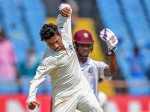 Kuldeep Yadav spins India to record win against West Indies
