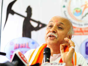 Pravin Togadia hits out at Narendra Modi, Mohan Bhagwat on Ram Temple issue