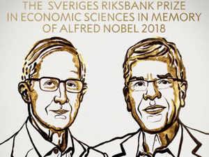 William D. Nordhaus and Paul M. Romer awarded Nobel Prize in Economics