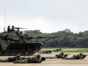 Taiwan holds military drill with Paraguay amid China tension