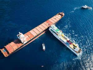 Tunisian freighter