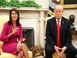 Nikki Haley resigns as Trump's ambassador to the United Nations