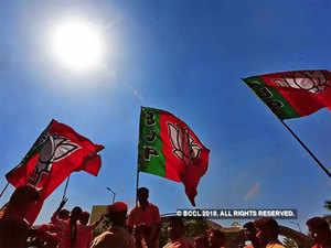 BJP-flags
