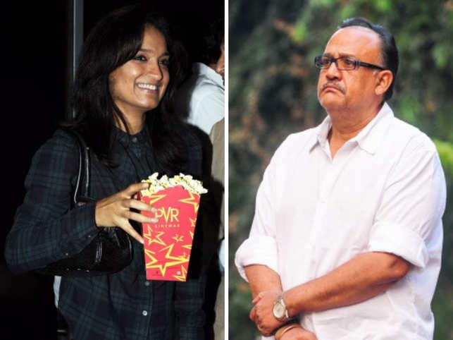 Sandhya Mridul (L), Alok Nath