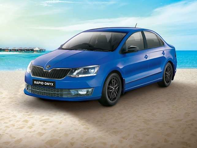 Launching At A Starting Price Of Rs 9 75 Lakh The Skoda Rapid Onyx