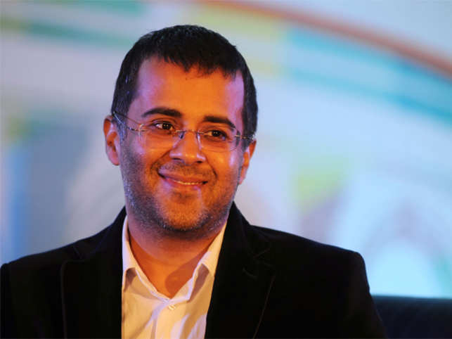 Here's why Chetan Bhagat won't share his views on social media any more