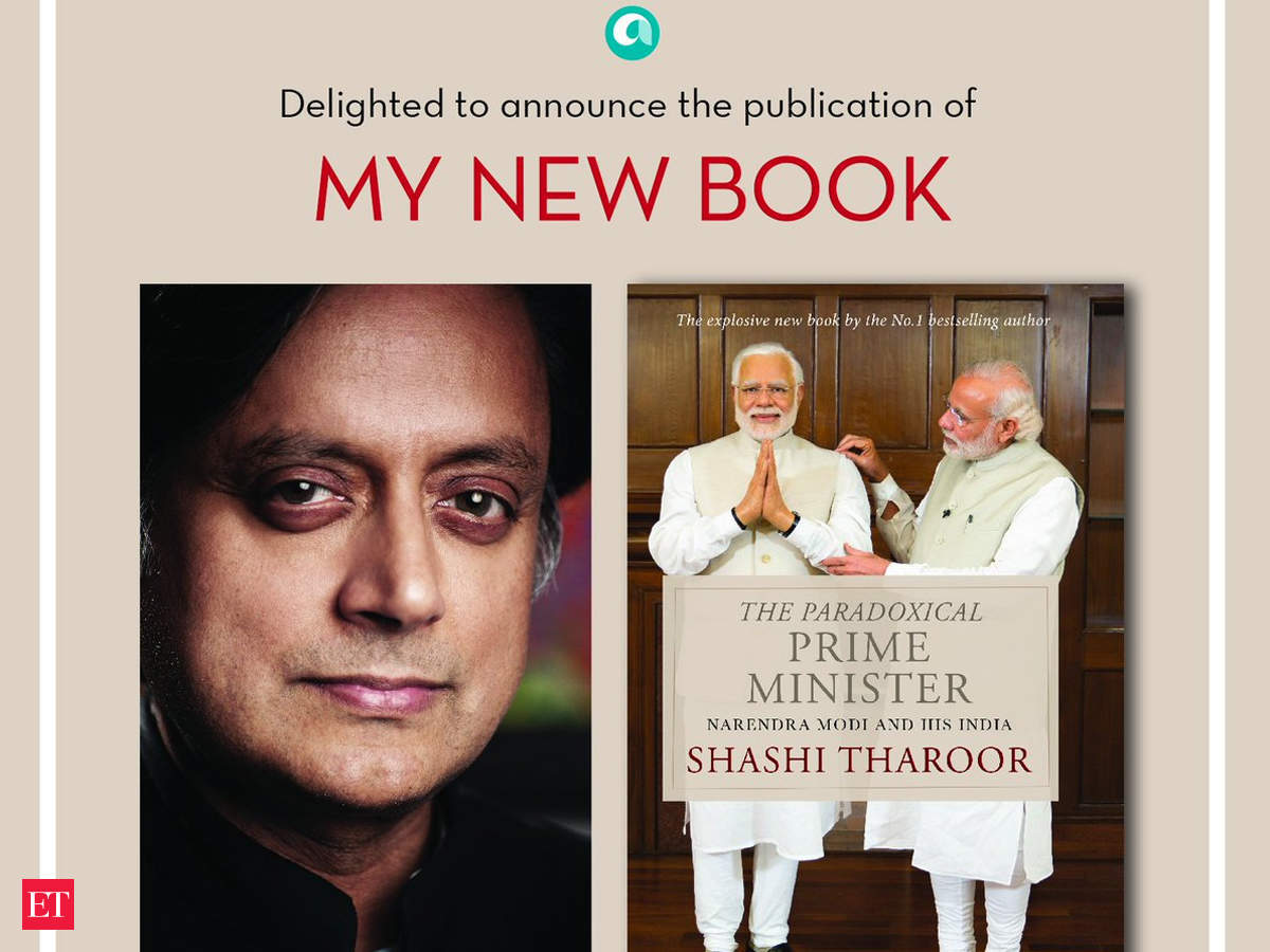 Image result for shashi tharoor and narendra modi
