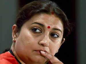 Smriti Irani reacts to #MeToo allegations against MJ Akbar