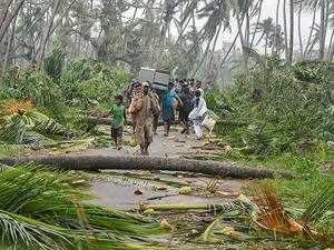 Cyclone Titli wreaks havoc; 8 dead in Andhra