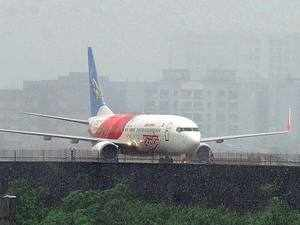 Air India Express flight taking off hits wall in Trichy