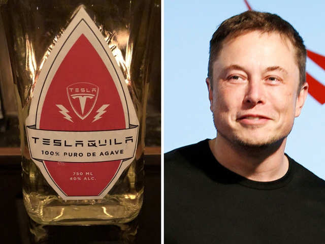 Elon Musk files trademark for a Tesla-branded tequila, Teslaquila