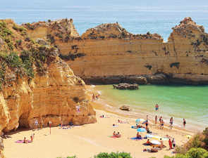 Lagos boasts beaches of every kind and ode-worthy sandstone cliffs