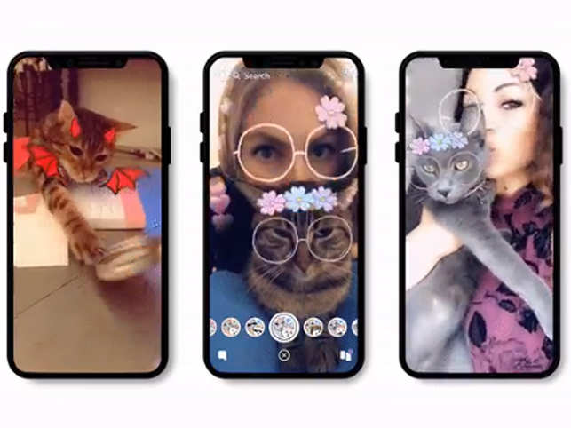 Snapchat rolls out new filters for your cat