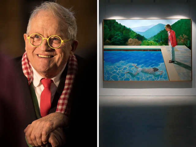 David Hockney's famous 1972 pool scene, that took 18 hrs a day for two weeks, may become world's most expensive artwork by living artist