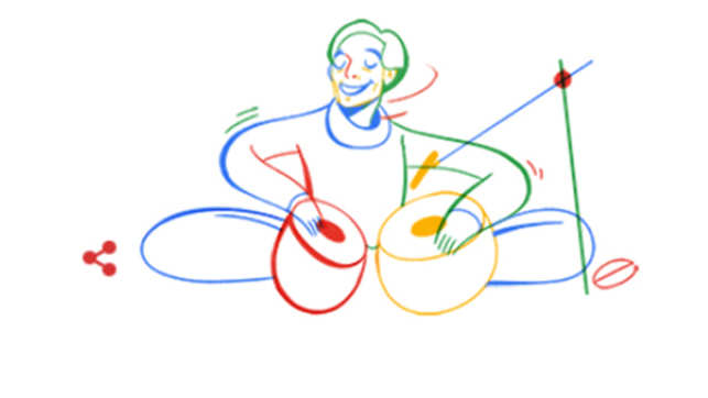 Google honours Lachhu Maharaj on 74th birth anniversary with a doodle
