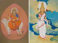 '9 Gems' of Navratri: Bengaluru gallery honours Goddess Durga through artwork