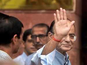 FM Jaitley repeats 'clown prince' jibe at Rahul Gandhi
